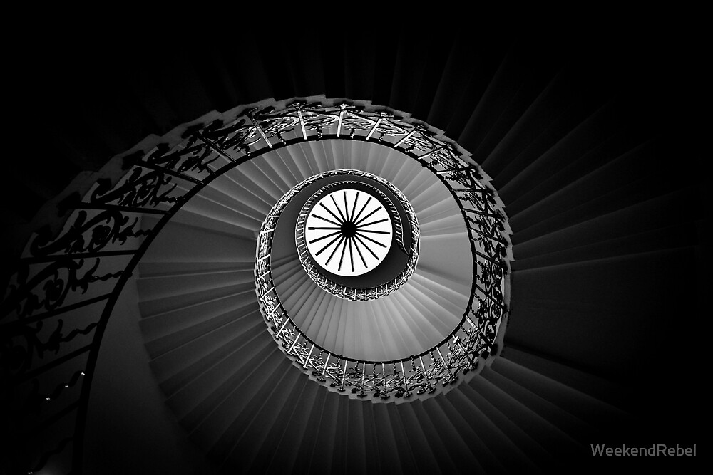 Spiral Staircase by WeekendRebel