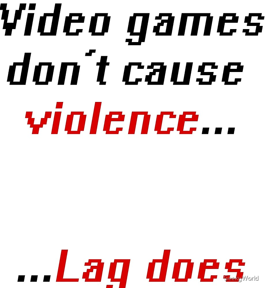 do video games cause violence You wouldn't expect these 6 things to cause hallucinations violent video games alter a child's use of drugs, and of course, death researchers at ohio state university explored the long-debated question: do violent tv shows, movies, and video games increase aggression in children.
