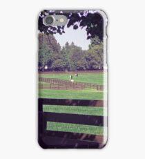 Equine Pasture iPhone Case/Skin
