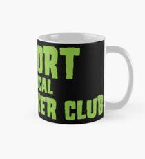 Unterstützen Sie Ihren lokalen fettigen Biker Club Black & Green Tasse