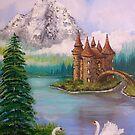 Swan Castle by L.W. Turek
