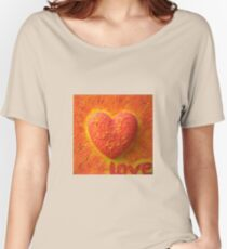 Burning LOVE Women's Relaxed Fit T-Shirt