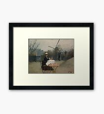 Ramon Casas - Plein Air  Framed Print