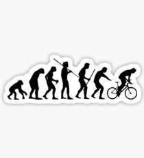 Cycling Evolution Sticker