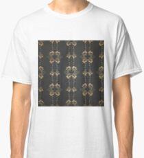 Damask vintage floral pattern Classic T-Shirt