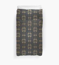 Damask vintage floral pattern Duvet Cover