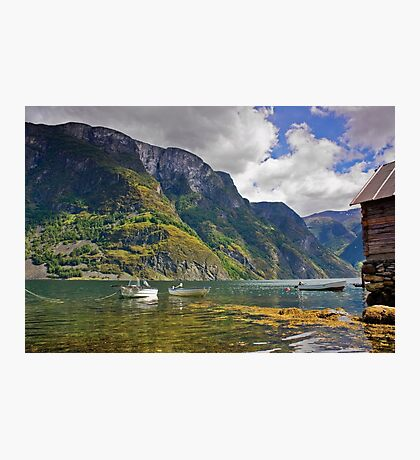 Clear water of fjords Photographic Print