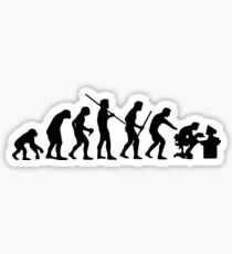 Computer Evolution Sticker