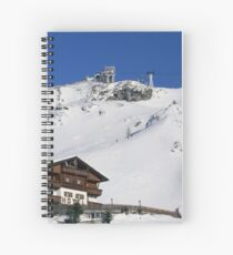 Panoramic view of the mountains Spiral Notebook