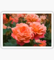 Happy, Fragrant Roses - Impressions of June Sticker