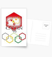 Catan Olympische Spiele Postkarten