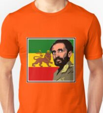 Haile Selassie-Lion of Judah Unisex T-Shirt