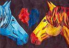 Night Horses by Juhan Rodrik