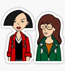 Daria and Jane Sticker