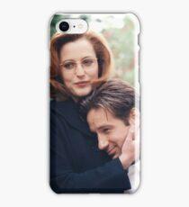 dana scully x files fox mulder iPhone Case/Skin