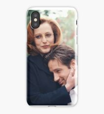 dana scully x files fox mulder iPhone Case/Skin