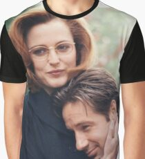dana scully x files fox mulder Graphic T-Shirt