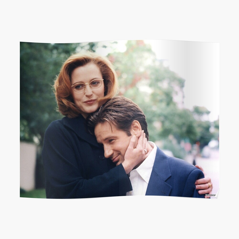 Dana Scully X Dateien Fuchs Mulder Poster