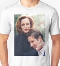 dana scully x files fox mulder T-Shirt