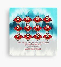 mushu emoji Canvas Print