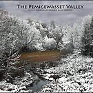 Pemigewasset Valley Poster - Moose on Snowy Oxbow by Wayne King