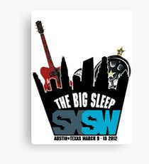 The Big Sleep SXSW 2012 Canvas Print
