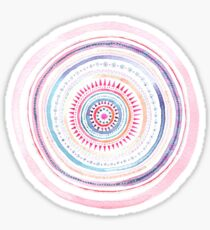 Abstract Mandala Sticker