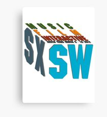 SXSW The Big Sleep 2012 Canvas Print