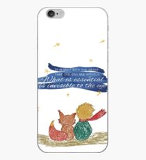 What is essential is invisible to the eye iPhone Case