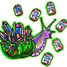 party snail by HiddenStash