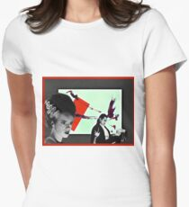 He had panache. . .  Womens Fitted T-Shirt