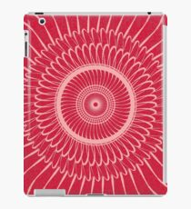 Red Reality iPad Case/Skin