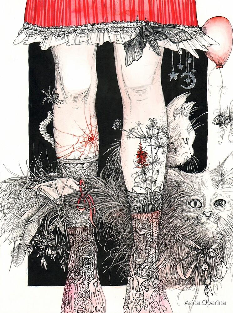 Legs by Anna Oparina