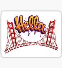 Hella - SF Sticker