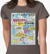 """Marianne Williamson Quote - """"Our deepest fear is not that we are inadequate"""" Womens Fitted T-Shirt"""