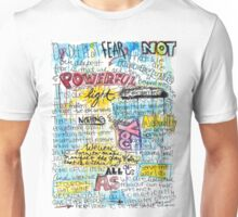 "Marianne Williamson Quote - ""Our deepest fear is not that we are inadequate"" Unisex T-Shirt"
