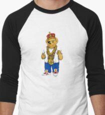 Gangster King Polo Bear Baseball ¾ Sleeve T-Shirt
