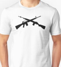 Keep Your Arms Crossed - Black T-Shirt