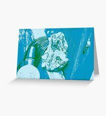 Warhol Frog Greeting Card
