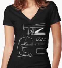 Porsche RWB Women's Fitted V-Neck T-Shirt