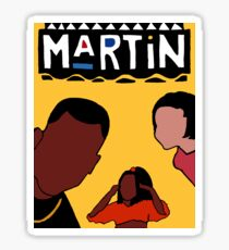 Martin (Yellow) Sticker