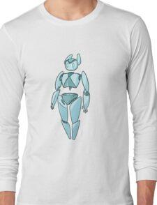 Simple Robot Long Sleeve T-Shirt