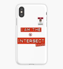 """Chuck """"I Am the Intersect""""  iPhone Case"""