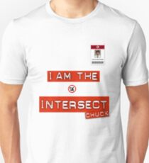 "Chuck ""I Am the Intersect""  T-Shirt"