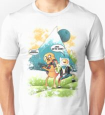 ADVENTURE TIME - JAKE, WE'RE HOME! T-Shirt
