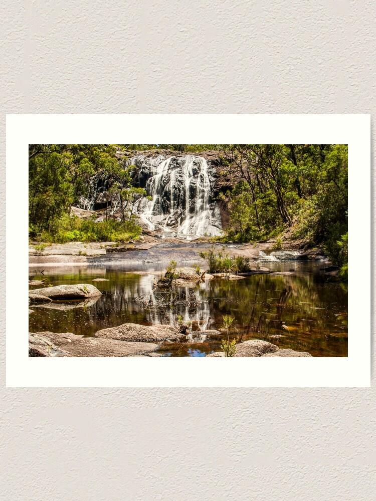 Alternate view of Beautiful Basket Swamp Falls Art Print