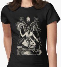 Baphomet Tailliertes T-Shirt für Frauen