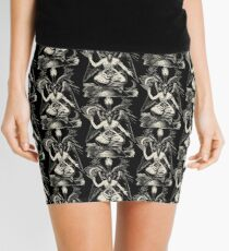 Baphomet Mini Skirt