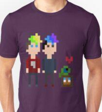 Pixel Jack, Mark and Friends Unisex T-Shirt