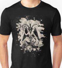 Baphomet - bleached (creme white) Unisex T-Shirt